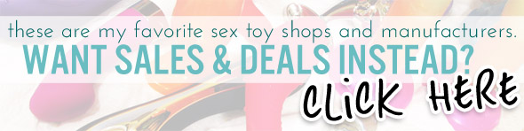 Click here for sex toy sales and deals