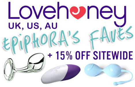 Browse Epiphora's Faves and get 15% off sitewide at Lovehoney