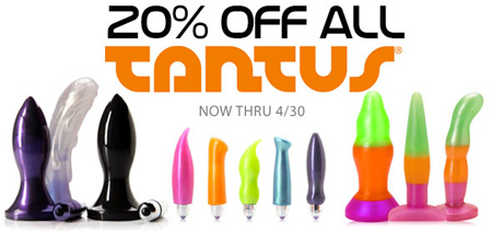 20% off Tantus at SheVibe!