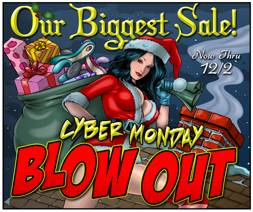 SheVibe Cyber Monday blow-out!