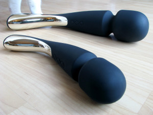 LELO Smart Wands: medium in foreground, large in background