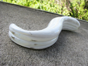 Fucking Sculptures G-Spoon large glass dildo