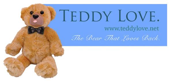 Teddy Love vibrating teddy bear... kill me now