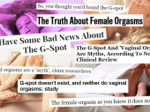 An abridged guide to decoding horseshit articles about the G-spot's existence