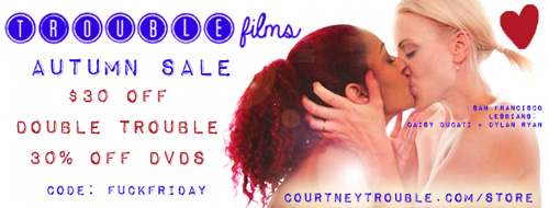 Autumn sale at Courtney Trouble's store!