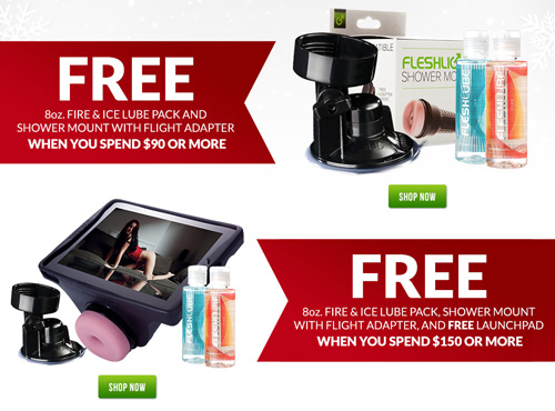 Buy more, get more free gifts at Fleshlight this Black Friday!