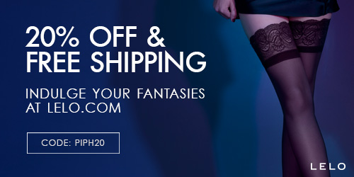 20% off and free international shipping at LELO with code PIPH20