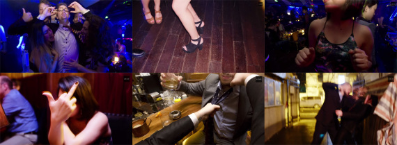 """Screenshots from LELO's promo video for Pino, the cock ring """"exclusively for bankers"""""""