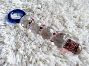 Joyful Pleasure Orgasmic Key Pleasure glass dildo