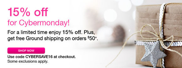 15% off everything at Babeland through 11/30 with code CYBERSAVE16