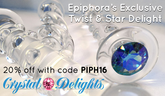Epiphora's Exclusive Twist and Star Delight are 20% off at Crystal Delights!