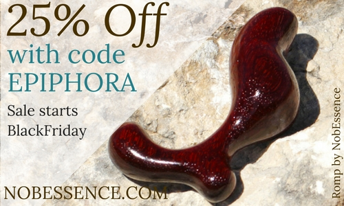 25% off everything at NobEssence with code EPIPHORA