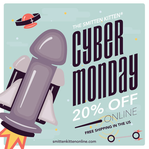 20% off at Smitten Kitten this Cyber Monday!