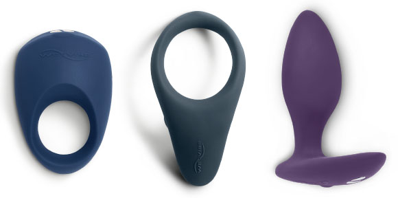 We-Vibe Pivot, Verge, and Ditto