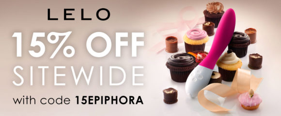15% off at LELO with code 15EPIPHORA